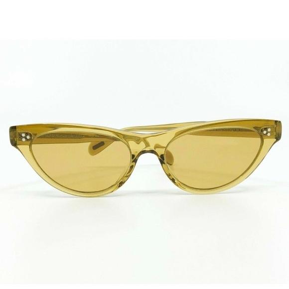 Oliver People's Dark Honey/Amber Zasia Sunglasses